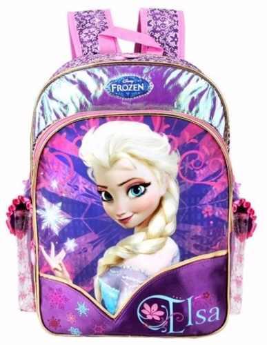 Bolsa Escolar Feminina Da Frozen : Mochila frozen elsa palijan